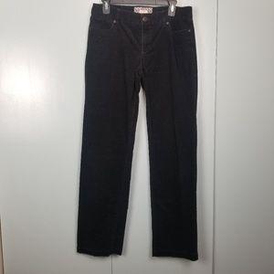 J.Crew black corduroy boot cut pants size 6 -P1